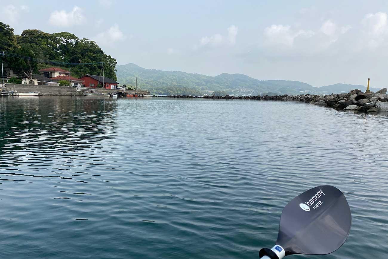 小さな港にも風情を感じる大村湾
