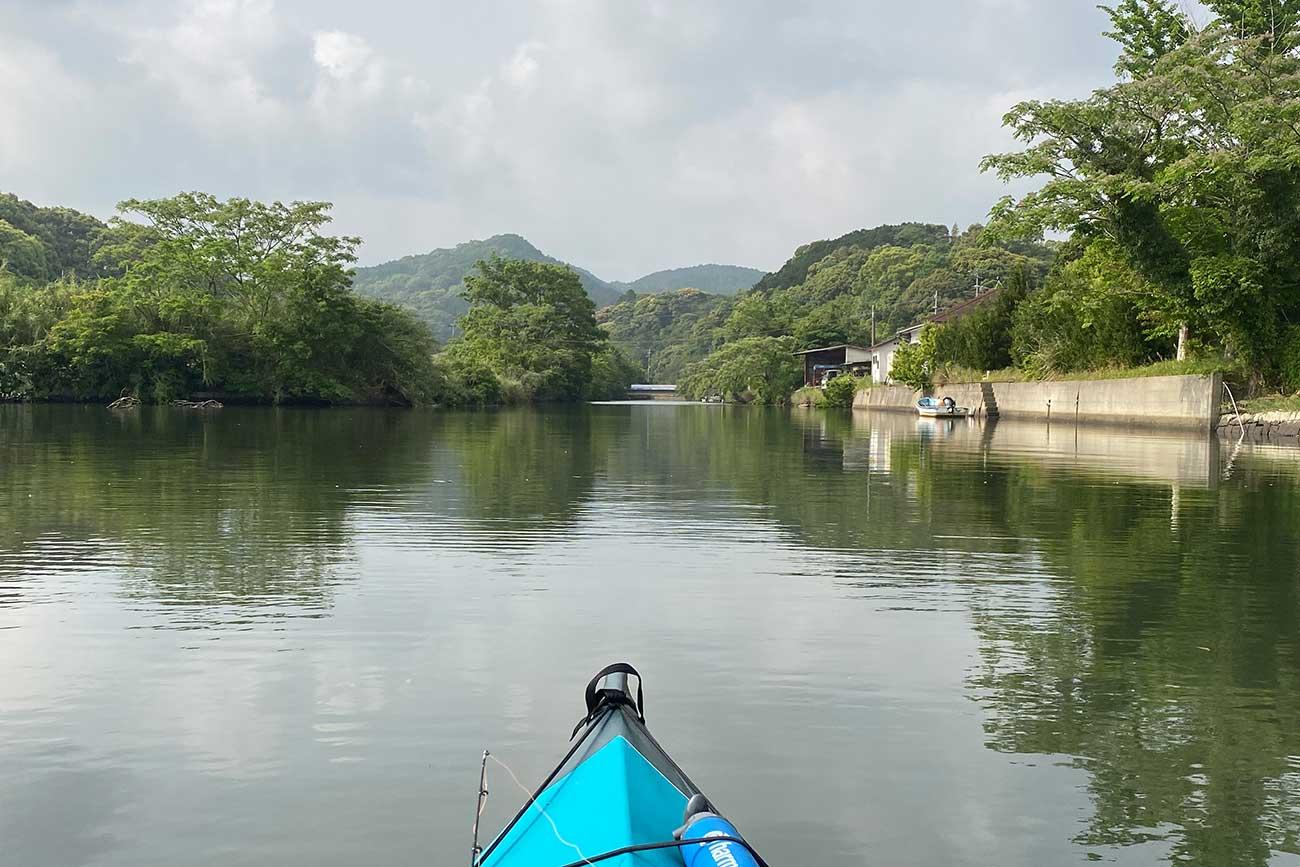 柚子ノ川の河口